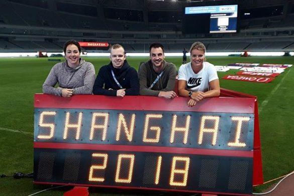 """Groen: """"De Diamond League Shanghai was heel bijzonder om bij te zijn"""""""