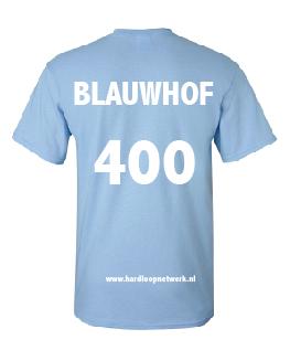 T-shirt Blauwhof lichtblauw