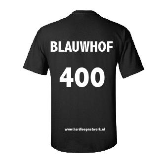 T-shirt Blauwhof zwart