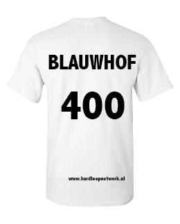 T-shirt Blauwhof wit