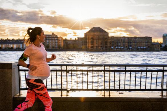 Zwanger hardlopen